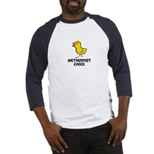 Methodist Chick Baseball Jersey