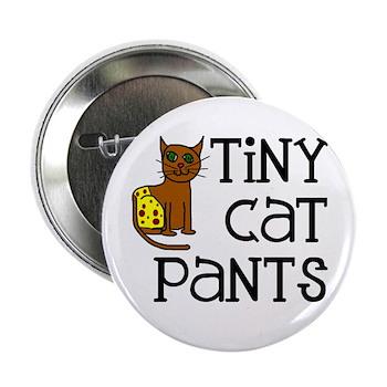 """Tiny Cat Pants 2.25"""" Button"""