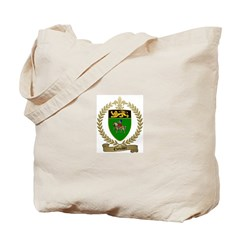 CHEVALIER Family Crest Tote Bag