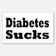 Diabetes Rectangle Sticker 10 pk)