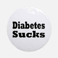 Diabetes Ornament (Round)