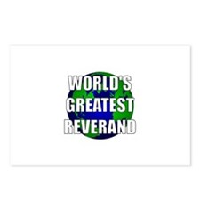 World's Greatest Reverand Postcards (Package of 8)