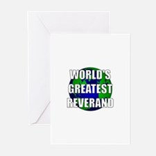 World's Greatest Reverand Greeting Cards (Pk of 10