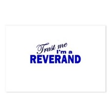 Trust Me I'm a Reverand Postcards (Package of 8)
