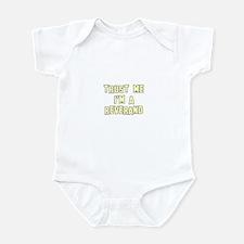 Trust Me I'm a Reverand Infant Bodysuit