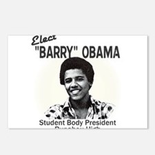 Barry Obama Postcards (Package of 8)