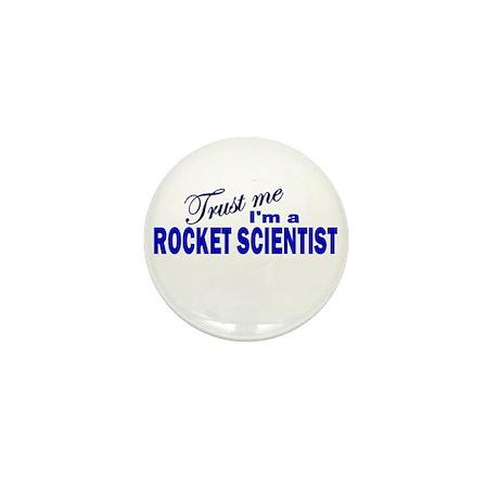 Trust Me I'm a Rocket Scienti Mini Button (100 pac