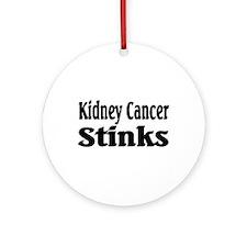 Kidney Cancer Ornament (Round)