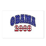 Obama 2008 Postcards (Package of 8)