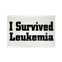 Leukemia Rectangle Magnet