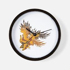 Eagle Claw Kung Fu Wall Clock