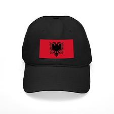 Albanian Flag Baseball Hat