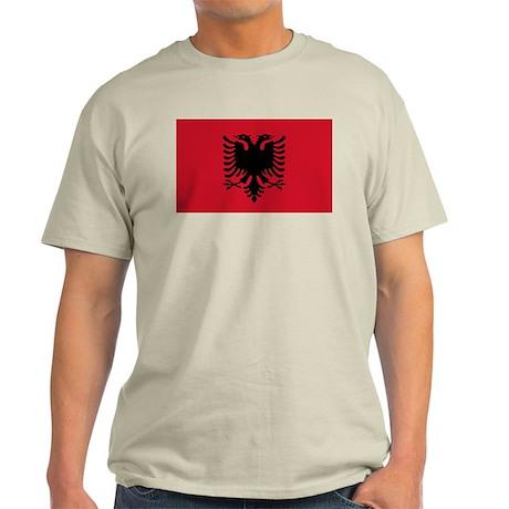 Albanian Flag Light T-Shirt