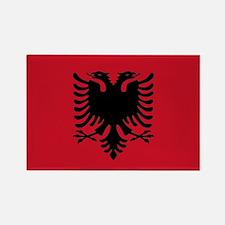 Albanian Flag Rectangle Magnet