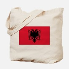 Albanian Flag Tote Bag