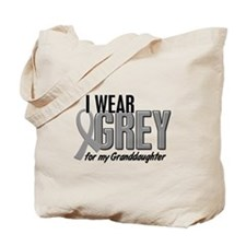 I Wear Grey For My Granddaughter 10 Tote Bag