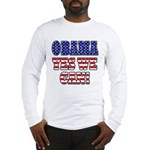 Obama Yes We Can Long Sleeve T-Shirt