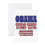 Obama Yes We Can Greeting Cards (Pk of 20)