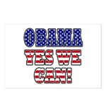 Obama Yes We Can Postcards (Package of 8)