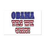 Obama Yes We Can Mini Poster Print