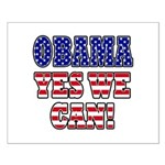 Obama Yes We Can Small Poster