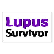Lupus Rectangle Decal