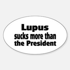 Lupus Oval Decal