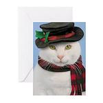 Snowcat Christmas Cards (Pk of 10)