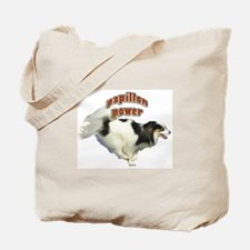 Papillon power Tote Bag