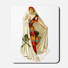 Halloween White Witch Mousepad