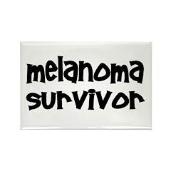 Melanoma Rectangle Magnet (100 pack)