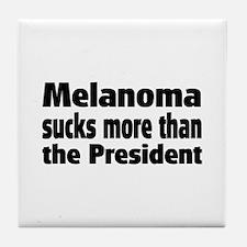 Melanoma Tile Coaster