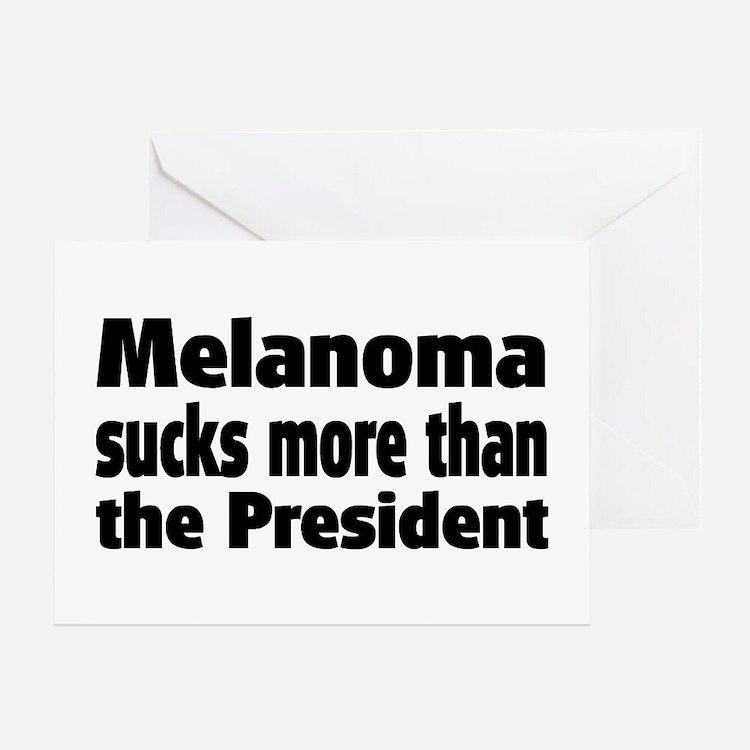 Melanoma Greeting Card