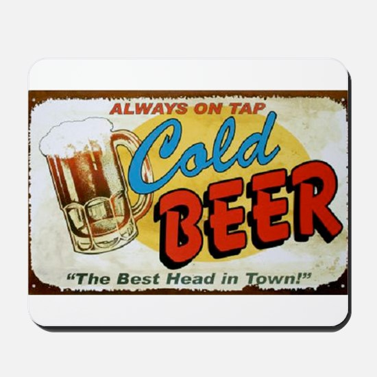 Cold Beer ! Mousepad