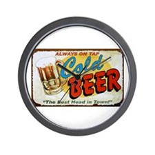 Cold Beer ! Wall Clock