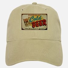 Cold Beer ! Baseball Baseball Cap