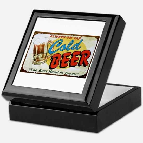 Cold Beer ! Keepsake Box
