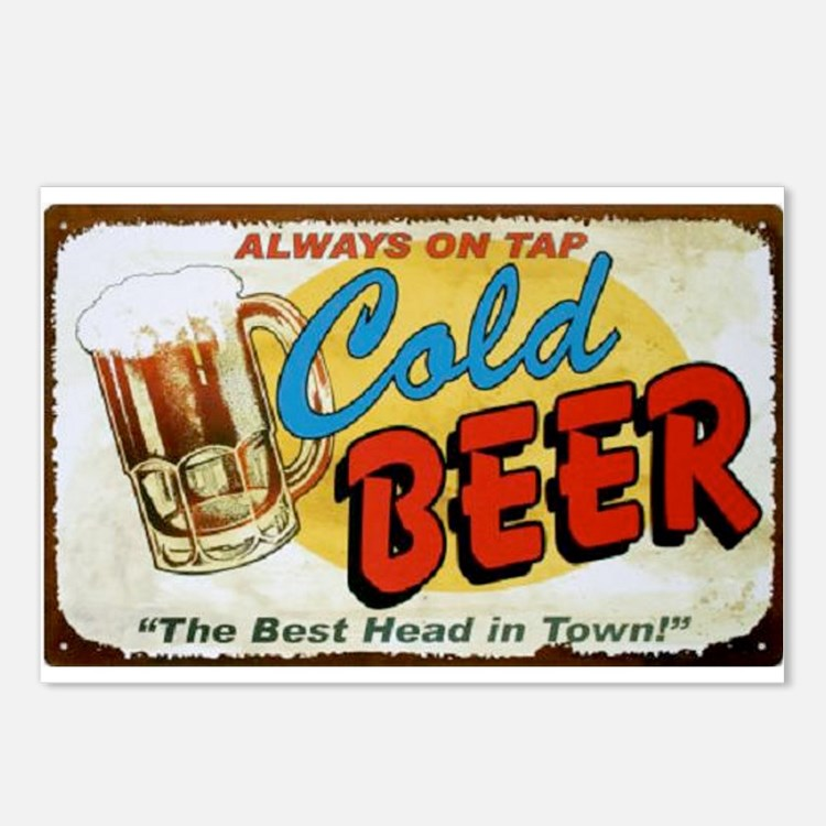Cold Beer ! Postcards (Package of 8)