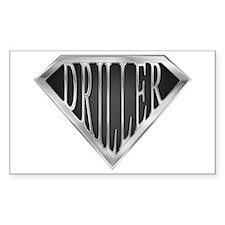 SuperDriller(metal) Rectangle Bumper Stickers