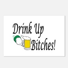 Drink Up Bitches! Postcards (Package of 8)