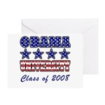 Obama University Class of 2008 Greeting Card
