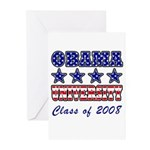 Obama University Class of 2008 Greeting Cards (Pk