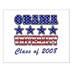 Obama University Class of 2008 Small Poster