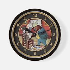 ROOSEVELT BEARS TEACH CAT TO Wall Clock