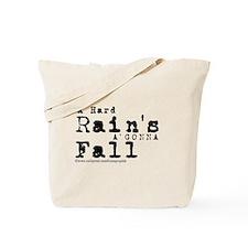 A Hard Rain/Bob Dylan Tote Bag