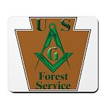Forest Service Mason Mousepad