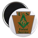 Forest Service Mason Magnet