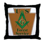 Forest Service Mason Throw Pillow