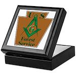 Forest Service Mason Keepsake Box