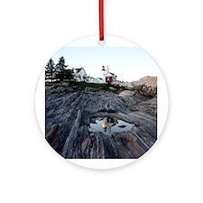 Pemaquid Point Light Ornament (Round)